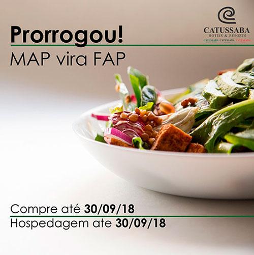Promoção Map vira FAP 30/09